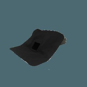 EPDM Regenwasserabfluss - Durchmesser 60 mm x 100 mm - Auslaufwinkel 45°